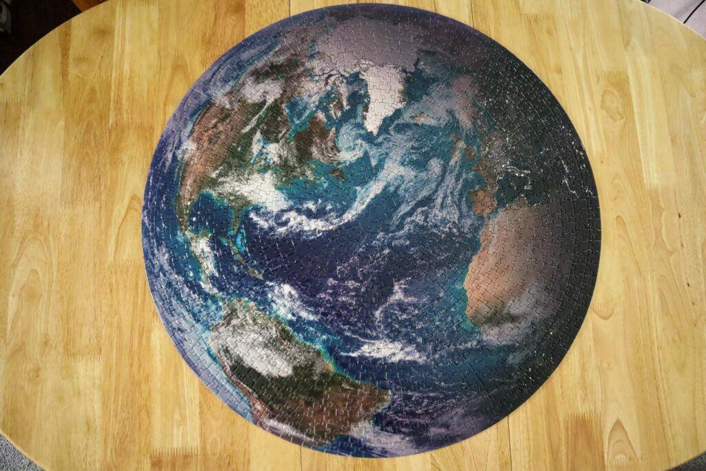 Earth Puzzle Bluekazoo